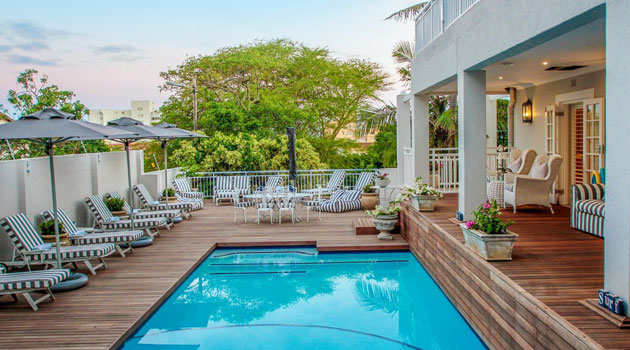 Sandals, Luxury, Guest House, Accommodation, Umhlanga, Durban, bed and breakfast, umhlanga rocks, 5-star, highly recommended, seaside accommodation